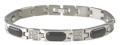 Amglo Titanium Bracelets with 5 or 7 Germanium stones