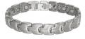 Amglo Titanium Magnetic Bracelets with 5 or 7 Germanium stones
